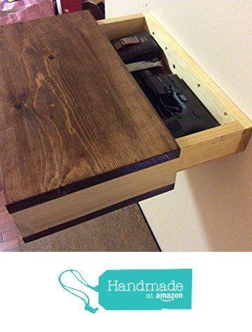 Rustic wood floating shelf with hidden compartment, rustic home decor, rustic shelves, wood wall shelf, reclaimed wood floating shelf from Shelton Woodworks http://www.amazon.com/dp/B0172XO3FA/ref=hnd_sw_r_pi_dp_k6SEwb1HV2V5P #handmadeatamazon