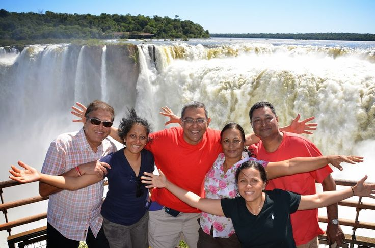 """Nayanesh and Reena Shah share with us their """"once in a lifetime"""" Vacations in South America .  In their Taylor made trip """"Wonders of South America in 12 days"""" they visited Rio de Janeiro, the amazing Iguazu Falls, Buenos Aires & Glaciers in El Calafate, Patagonia.  Thank you Nayanesh and Reena for sharring your travel experience with us!"""