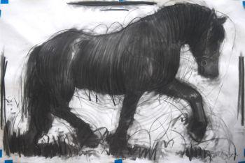 Horse, animal Artist: Vrielink, Nico Artwork title: Horse 2