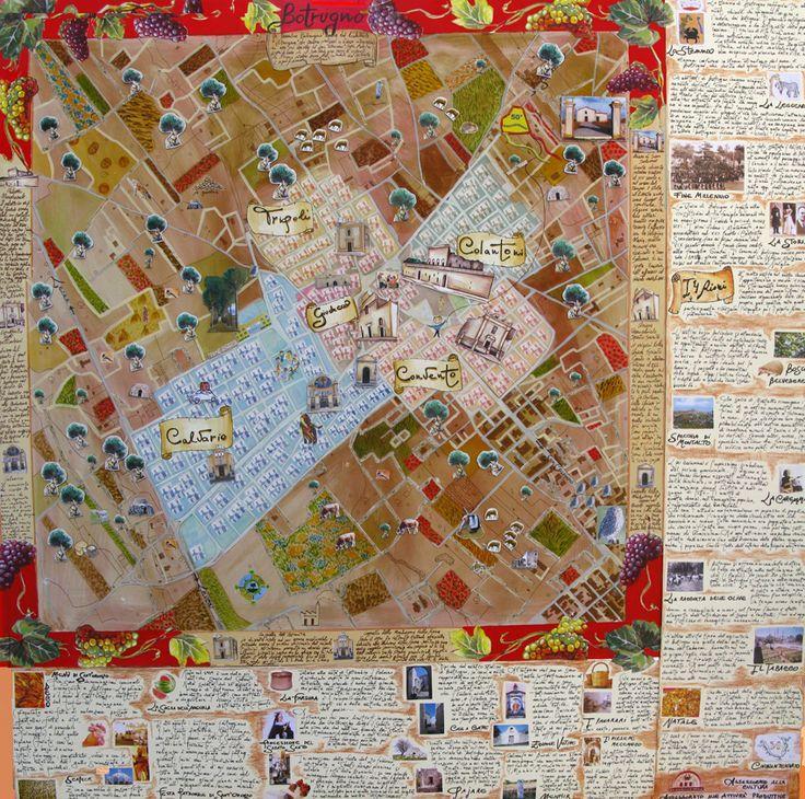 > Mappa di Comunità di Botrugno (Le)  > more info: http://www.ecomuseipuglia.net/schedaMappa.php?cod=17  http://paesaggio.regione.puglia.it/images/stories/Mappe_COMUNIT/mappe_comunita_dossier.pdf