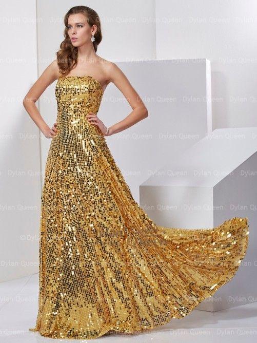 Charming Sleeveless A-Line/Princess Strapless Floor-Length Satin Long Dress