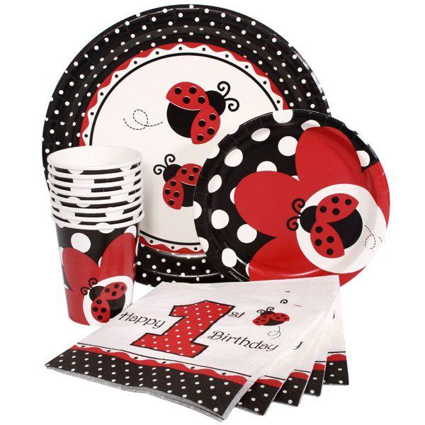 ladybug first birthday decorations | ... processing from Birthday Direct - Ladybug 1st Birthday Party Supplies