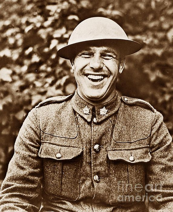 Canadian Soldier During First World War