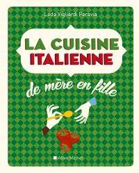 Parfumée, sensuelle, ensoleillée, essentielle, la cuisine italienne est aussi plurielle et contrastée, à l'image de ses nombreuses régions : Osso-buco à la milanaise, Daube à la florentine, Saltimbocca à la romaine, Rigatoni à la ricotta, Orechiette aux brocolis, Côtelettes de porc sauce piquante, Caponata, Cannoli, Cassata, Bagna caöda, Risotto au safran …