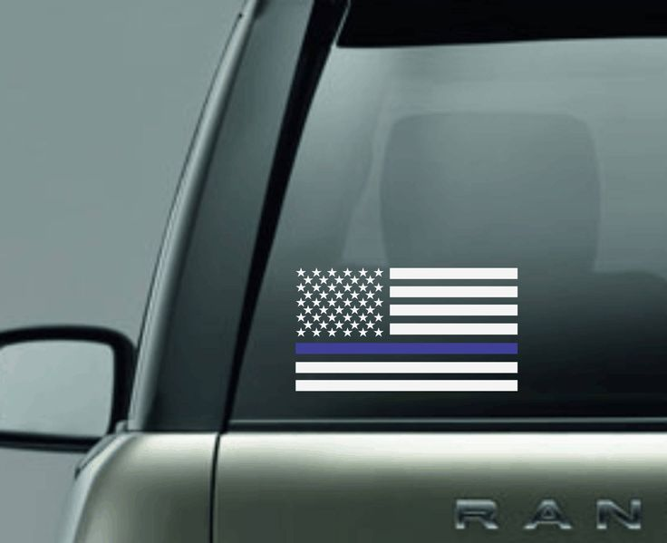 thin blue line decal back the blue decal police lives matter decal thin blue line flag decal support police decal vinyl car decal blue line by BeyondtheBlingUSA on Etsy
