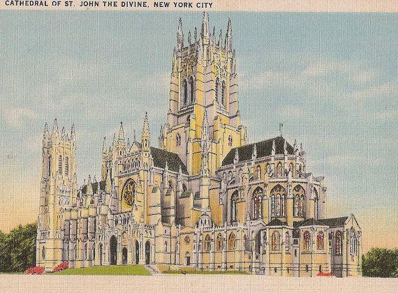 Gothic art postcards