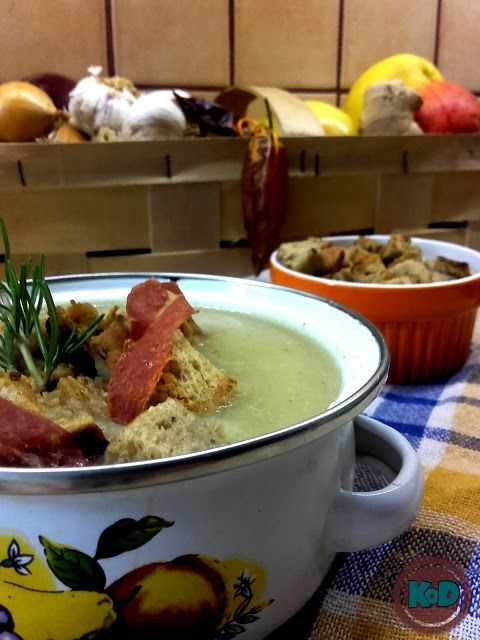 Fit cream soup - only with 3 vegetables #potato #cauliflower #celeriac