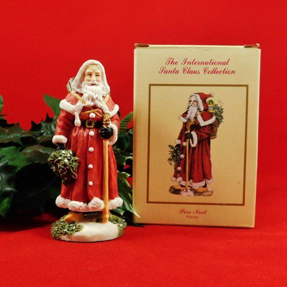 The International Santa Claus Collection Sc11 Pere Noel France Christmas Holiday Figurine 1993