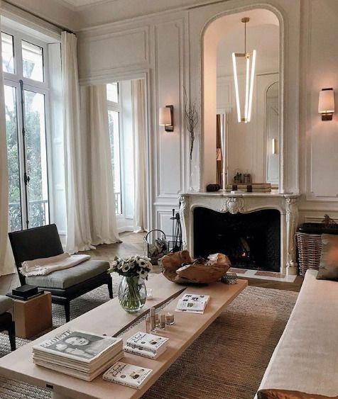 Striking balance between cozy / elegant   clean / …