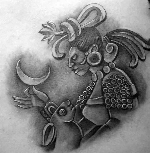 80 Mayan Tattoos For Men Masculine Design Ideas Mayan Tattoos