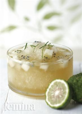 Ice Kaffir Lime Drink