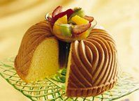 Pound cake from a cake mix, what could be easier! Pound cake topped with fruit salsa, what could be yummier!