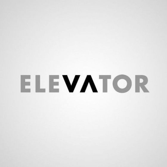 logo design - Elevator (even though it's just a wordmark, I like how they incorporated symbolism into the letters)