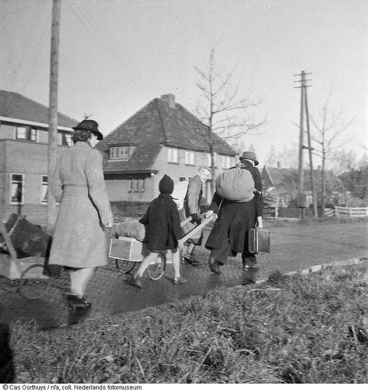 Stedelingen gaan in de hongerwinter op hongertocht in het omringende platteland (1944-1945)