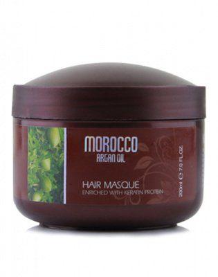 Восстанавливающая маска с маслом арганы, протеинами и аминокислотами кератина, Argan Oil from Morocco, 200мл от ARGAN OIL from MOROCCO за 490 руб!
