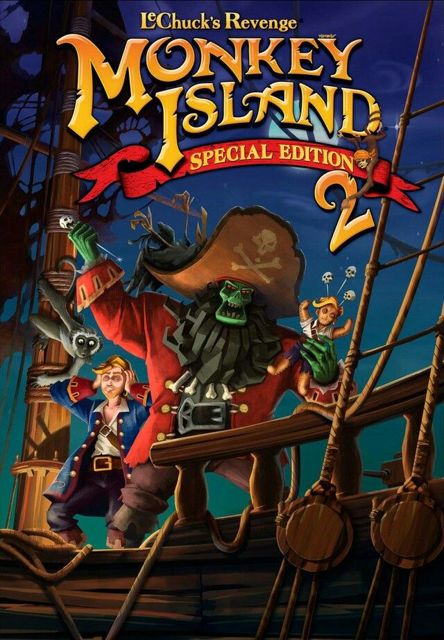 Monkey island 2 Le Chuck's revenge (special edition