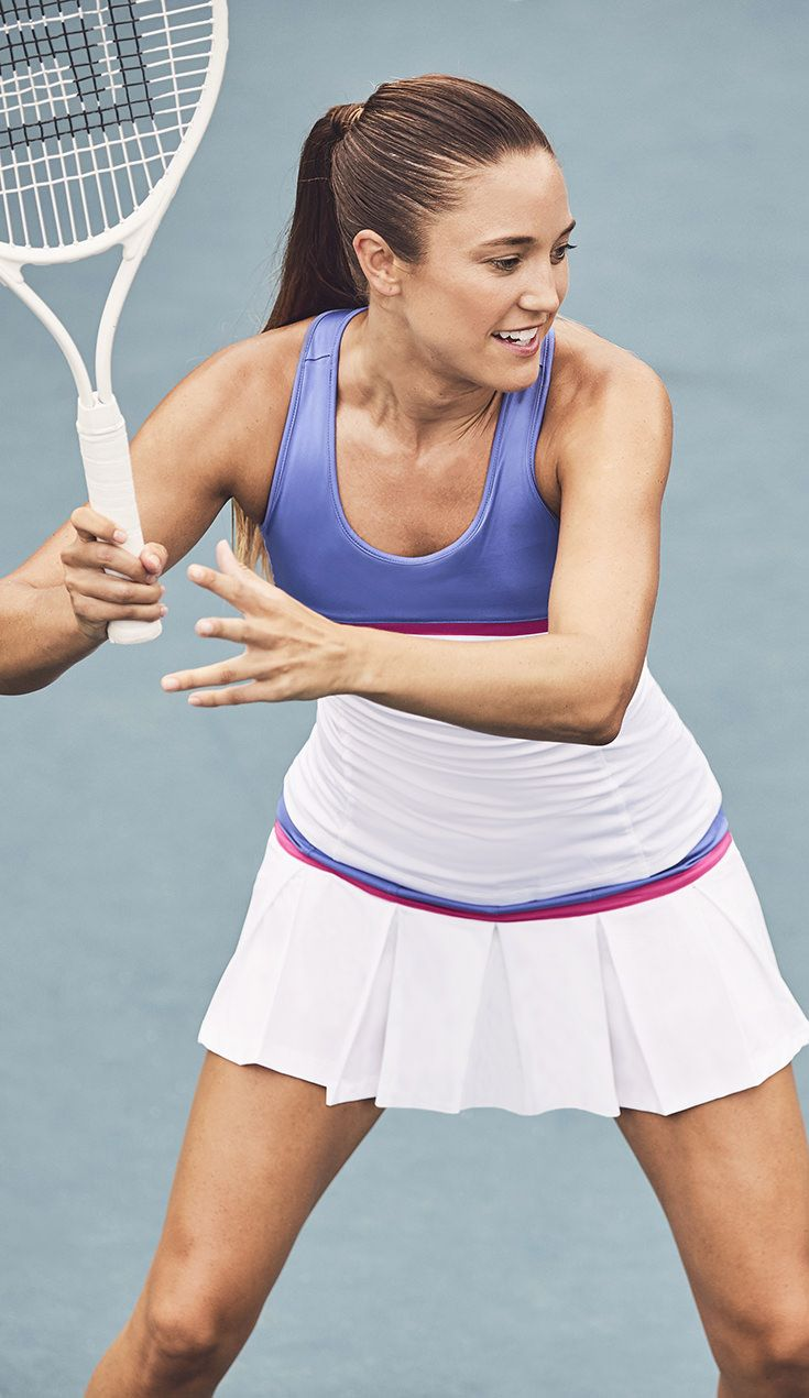 Fila Introduces The Newest Sweet Spot Fila Women S Tennis Apparel For Spring 2018 The Newest Fila Women S App Tennis Outfit Women Tennis Clothes Womens Tennis