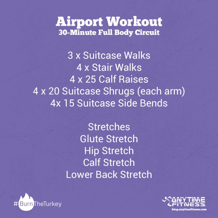 anytime fitness workouts