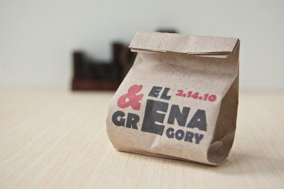 Bomboniere - Mini Sacchettini del Pane - set da 30 on Etsy, 12,00€