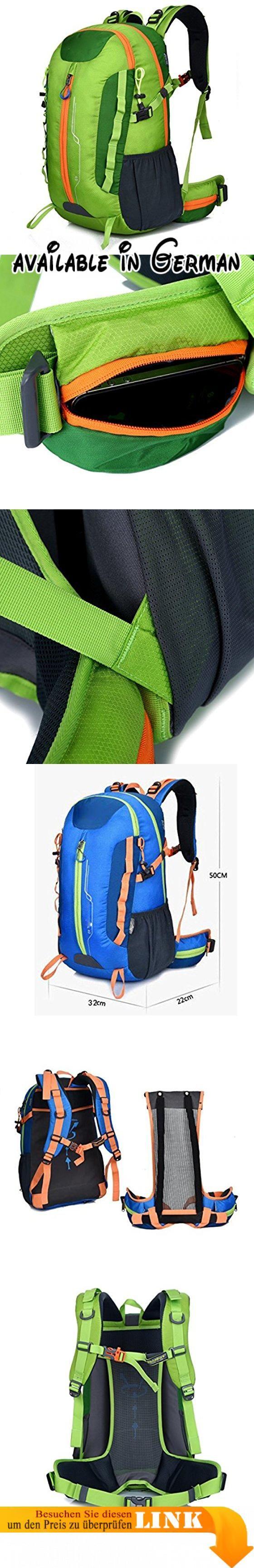 Bergsteigen Tasche Reiten Rucksack Reisen Doppel Schultertasche Sport Männer Und Frauen Walking Bag,Green. Der Rucksack ist aus hochreißigem und wasserabweisendem Nylongewebe gefertigt und bietet eine verbesserte und langlebige Leistung bei minimalem Gewicht.. Es ist geräumig genug für deine Hängematte, Kleidung, Handtuch, Zeitschrift und ein paar Biere, wenn nötig, etc. Es ist leicht, sich in kleine Tasche zu klappen. So können Sie es einfach in Ihrem Koffer für