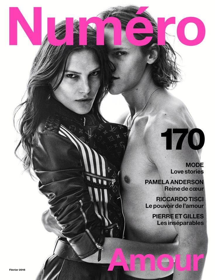 Cover Love Story : Catherine McNeil et Ryan Keating photographiés par Victor Demarchelier