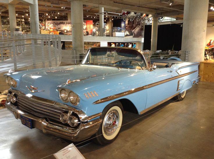 1958 Chevrolet Bel Air Impalia at the Barber Vintage Motorsport Museum