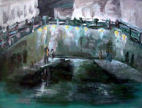 Night in my City by Mihaela Ionescu