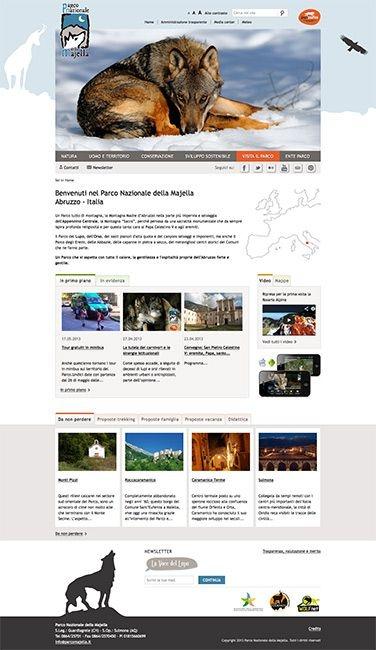 New Website of Majella National Park in Abruzzo.   http://www.editeltn.it/portfolio-internet-309-parco-nazionale-della-majella---abruzzo.html