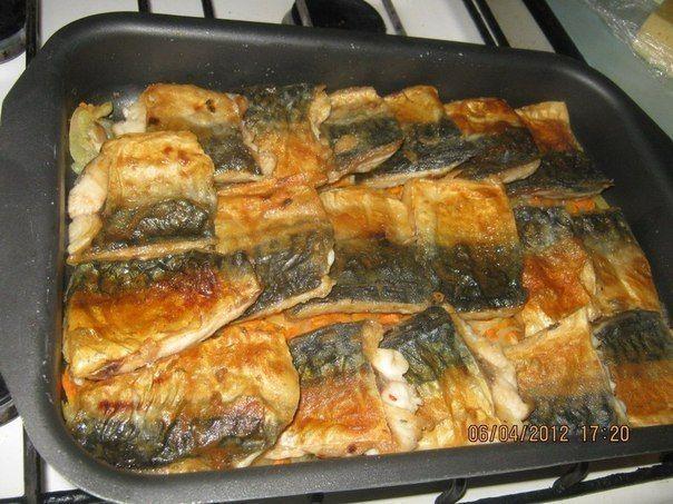 Скумбрия в духовке / Простые рецепты