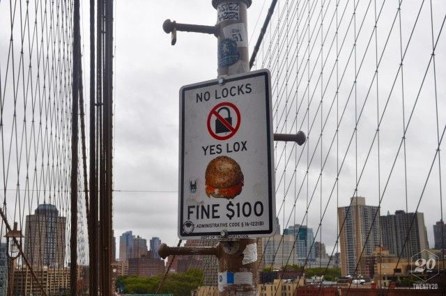 City, bridge, sign, message, new-york, urban, funny, bagel, brooklyn, lox authentic stock photos from the millions of real-world images at Twenty20.