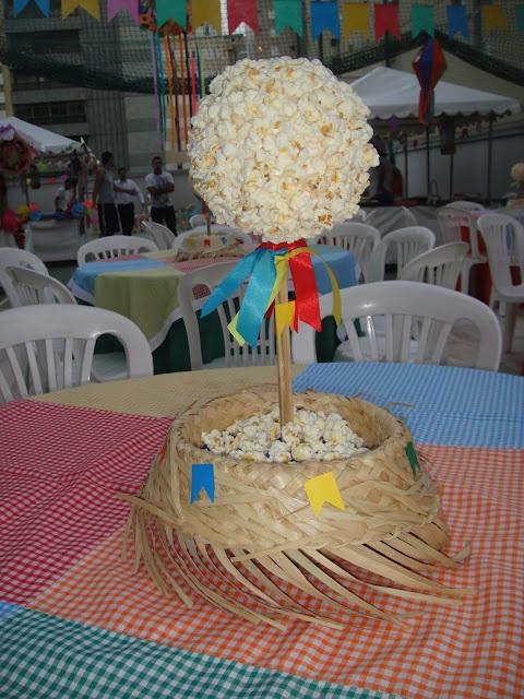 Festa Caipira Centro Mesa