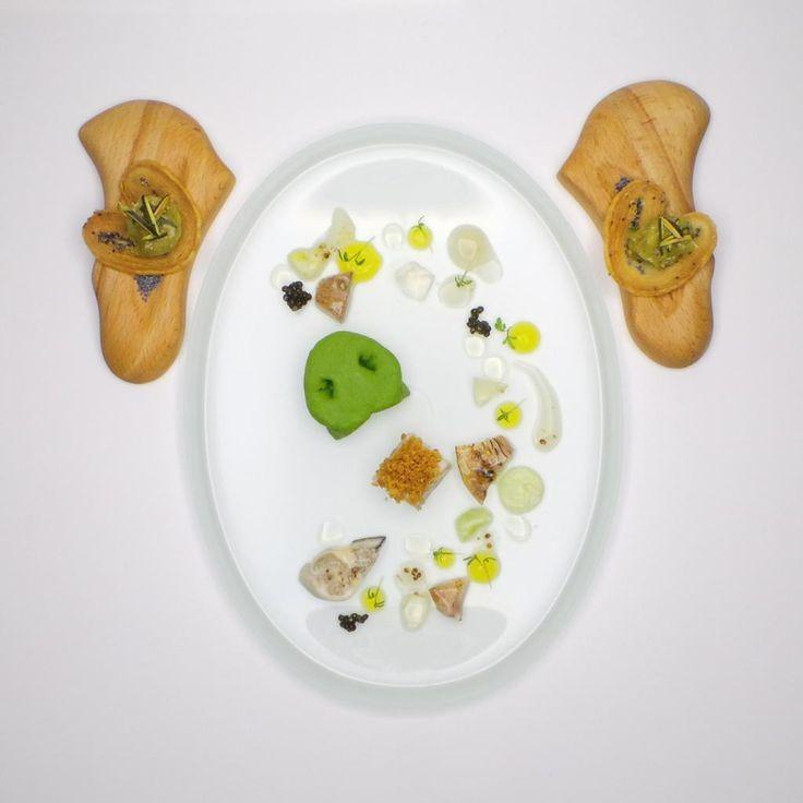 Joachim Wissler | Pork head, oyster, caviar | Joachim Wissler | Chef-Sache 2014 at Chef-Sache 2014. Archiving Food Photography | Gastronomy