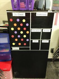 Love this easy way to keep track of your students.