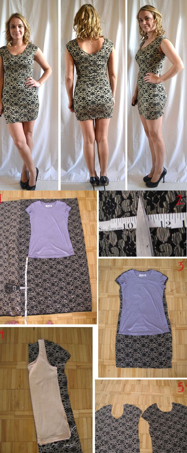 Love this simple dress. Must learn how to use my serger! 11 DIY Makeovers That You Must Try