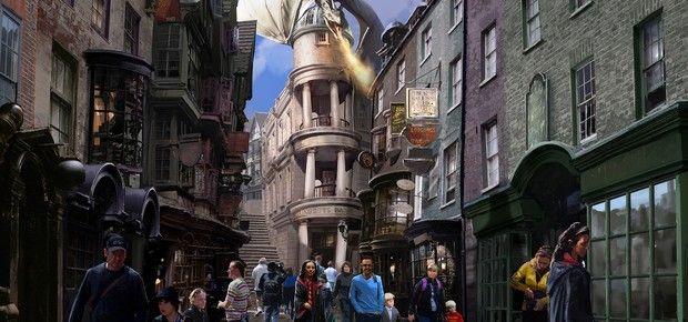 Novidade: Parque da Universal terá nova área dedicada a Harry Potter e inspirada no Beco Diagonal