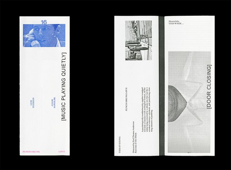 This Week 16 (booklet series) Designed by Ryan Gerald Nelson 2015