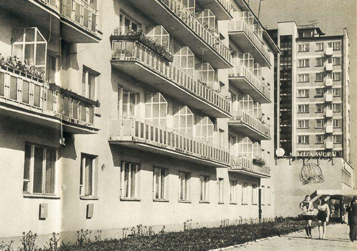 Białystok '70s Aleja 1 Maja fot. M. Rusinek-Kwilecka