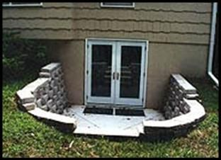 images of egress window designs | Custom Basement Egress Systems, Walls and Doors