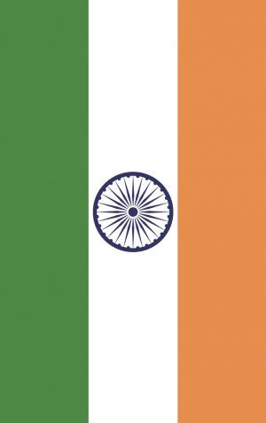 India flag bag tag. Wear it loud and proud as you travel the globe with our personalised bag and luggage tags designed and printed in Melbourne shipped to the world.
