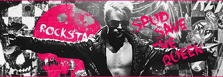 Rockstar Spud SAVE THE QUEEN