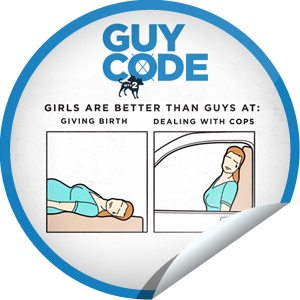 Steffie Doll's Guy Code: Girls Are Better Than Guys At... Sticker | GetGlue