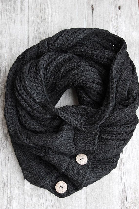 SALE! The Perfect Scarf - Black Scarf , Man Scarf, Gifts for Him by Northernly on Etsy https://www.etsy.com/listing/211841489/sale-the-perfect-scarf-black-scarf-man