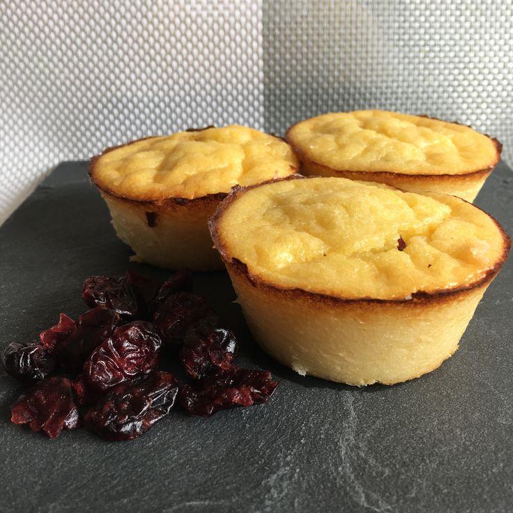 Gâteaux de floraline aux cranberries