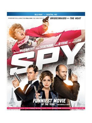 New Age Mama: Spy #Bluray Giveaway #SpyInsiders