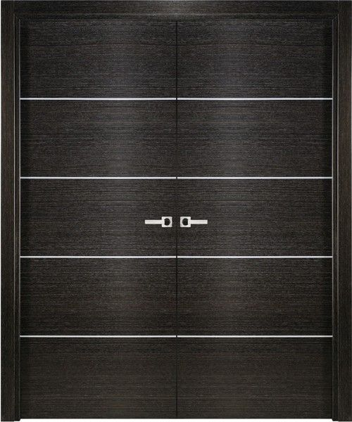 modern bedroom doors. Avanti 2 Modern Interior Double Door Italian Black Apricot Decorative Best 25  interior doors ideas on Pinterest design