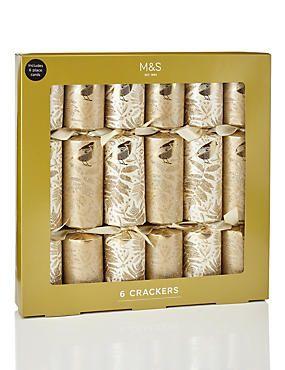 Luxury Gold Crackers