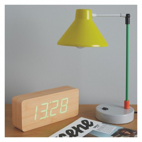 BOBBY Multi-coloured metal desk lamp | Buy now at Habitat UK