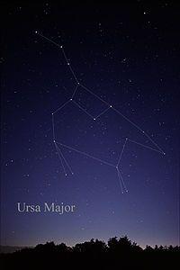 Age 12 ~ Astronomy ~ Ursa Major, the Great Bear ~ constellation