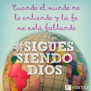 Te amo Dios...