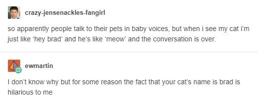 I will have a cat named Kenneth